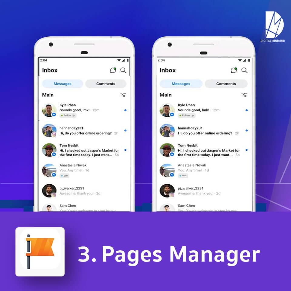 แอพฯ Facebook Page Manager
